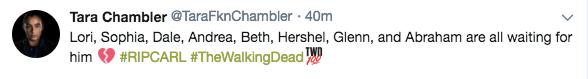 twd carls death tweet 3