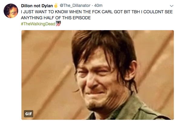 twd carls death tweet 5