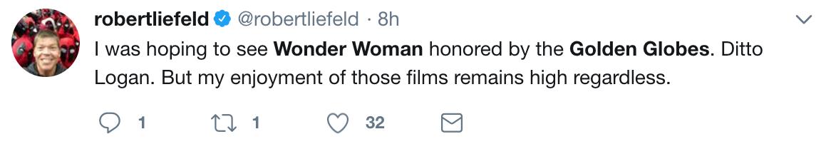 wonder woman golden globes tweets 6