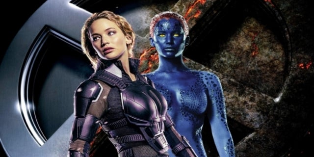 X-Men Mystique Jennifer Lawrence Comicbookcom
