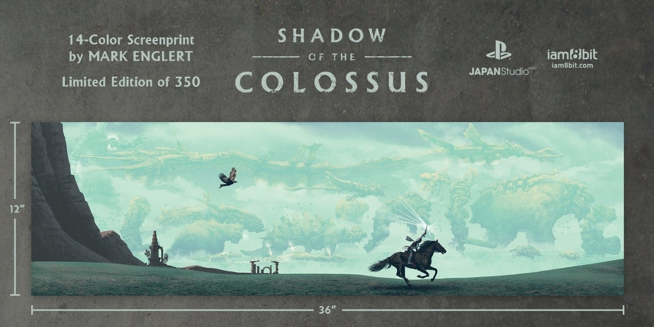 Shadow Of The Colossus Vinyl Soundtrack And Stunning Art