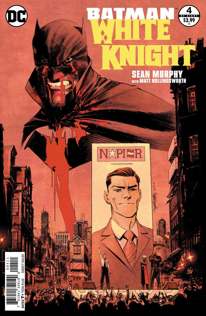 Batman: White Knight (2017) Issue 4