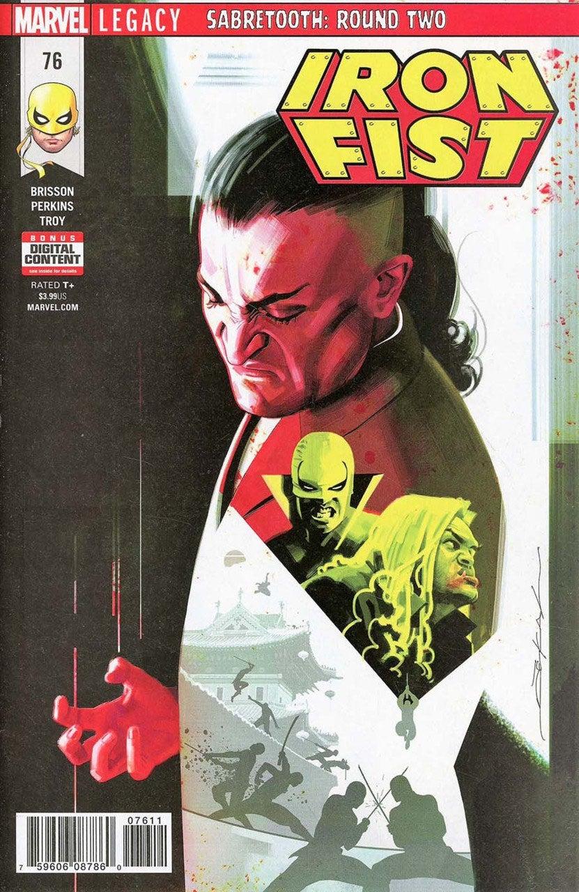 Iron Fist (2017) Issue 76