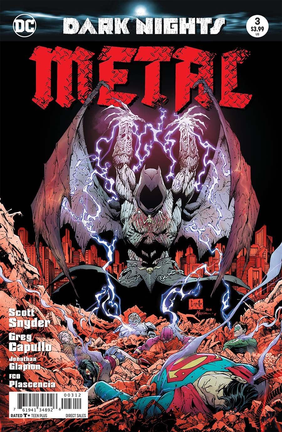 Dark Nights: Metal (2017) Issue 3