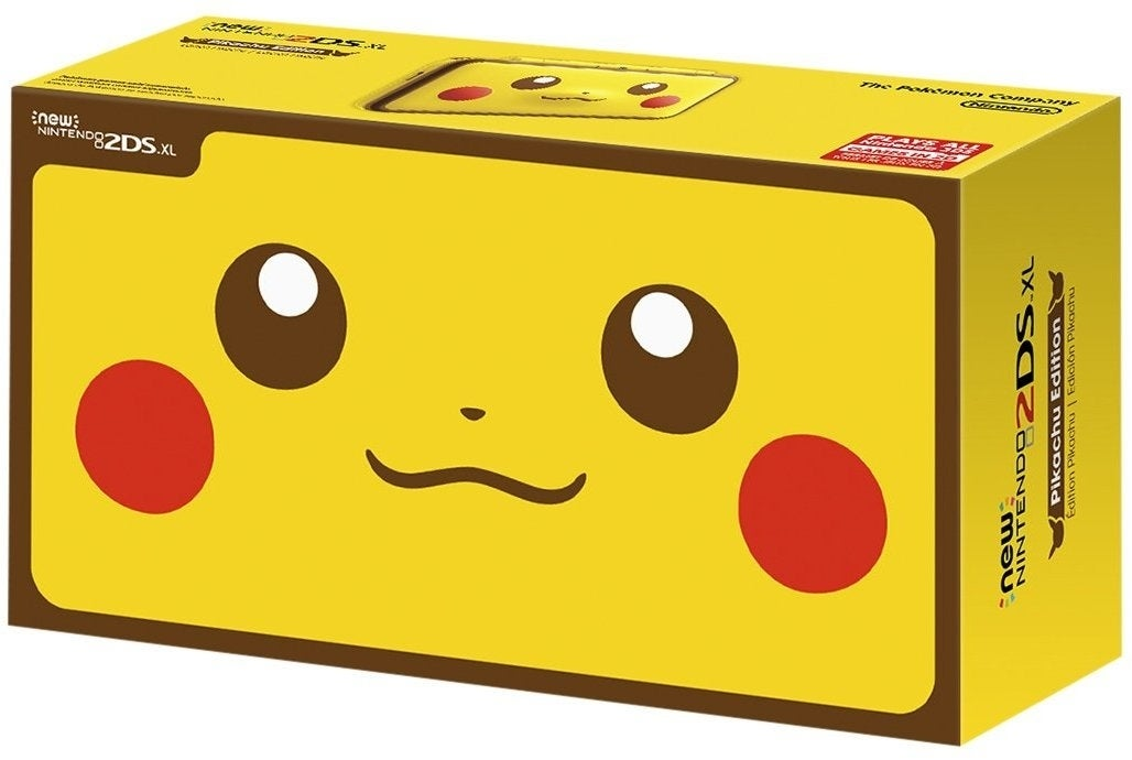 The pikachu new 2ds xl is available for pre order for Housse 2ds xl pokemon