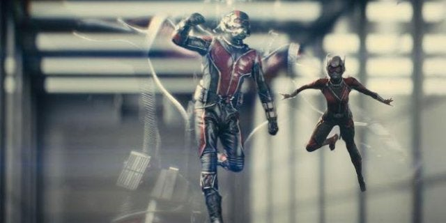 Ant-Man and the Wasp Quantum Realm Scenes