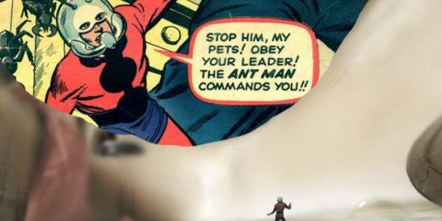 Ant-Man movie Jack Kirby Easter Egg