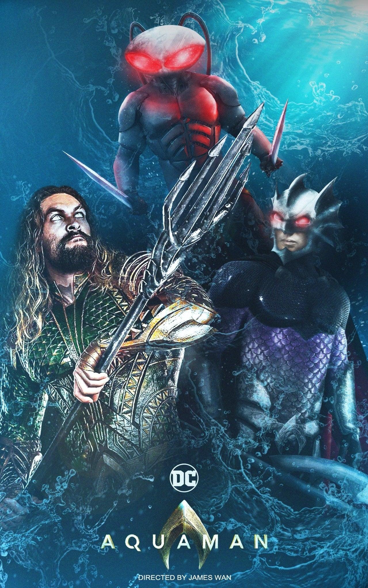 Aquaman Movie Fan Poster by DigestingBat