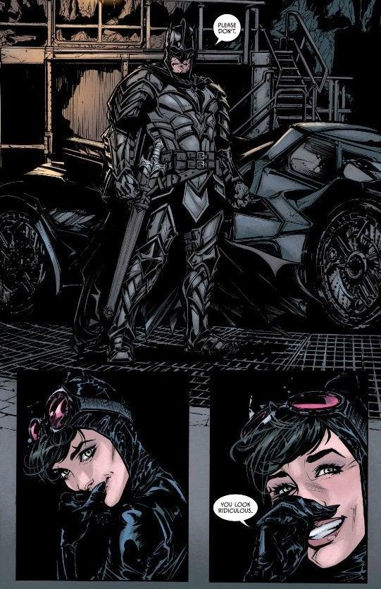 Batman Dons A New Costume In Batman #39