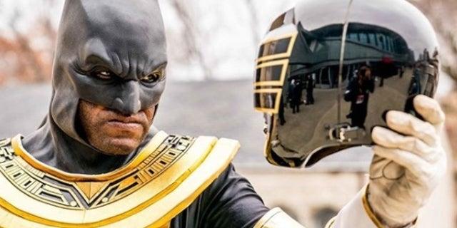 Batman-As-Gold-Ranger-Cosplay