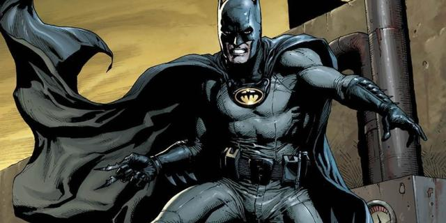 Batman Yellow Symbol Costume