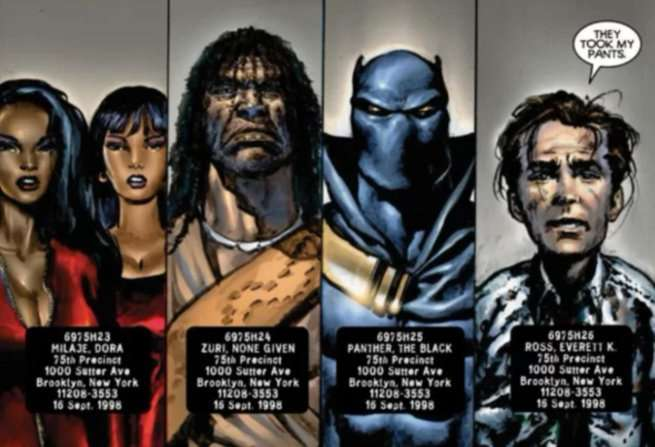 Black Panther Christopher Priest - Characters