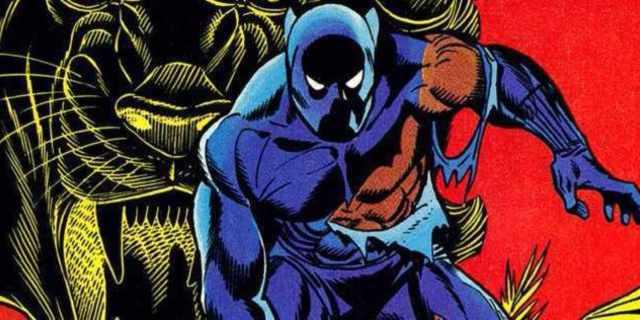 Black Panther Don McGregor - Cover