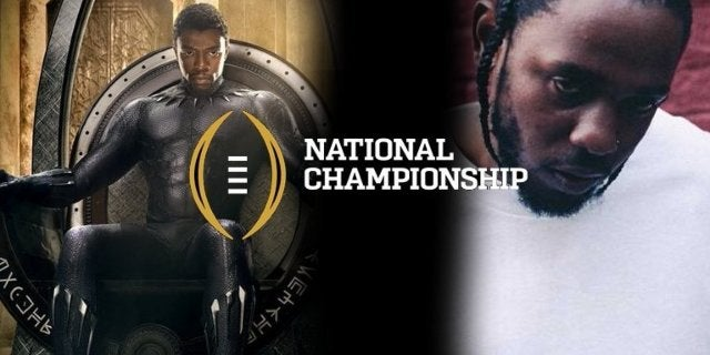 black-panther-sneak-peak-kendrick-lamar-halftime-college-football-national-championship