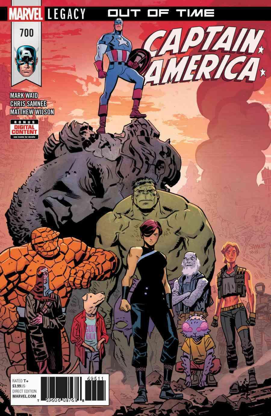 King Captain America Teased For Captain America 700