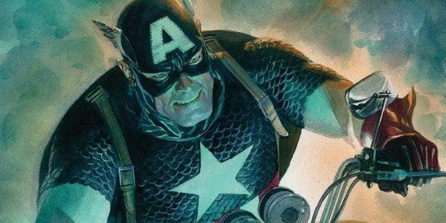 Captain America 700 Alex Ross