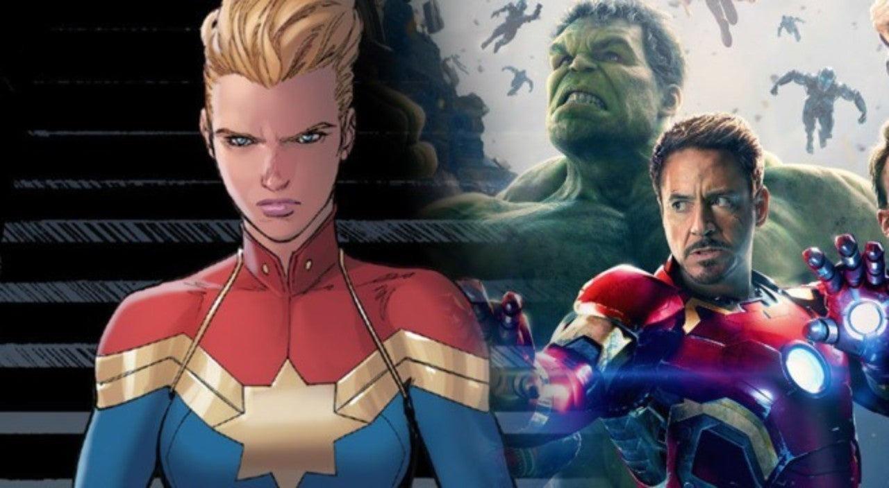 captain marvel dans avengers 4