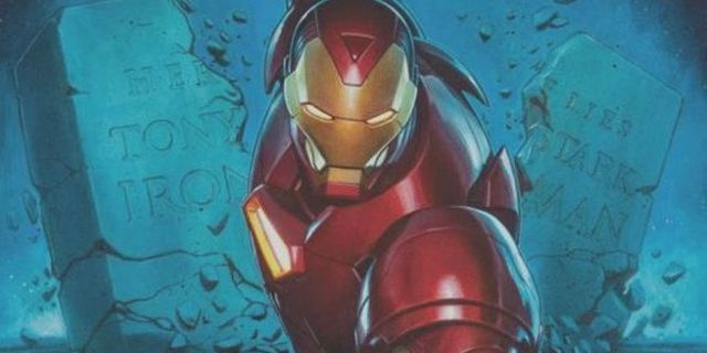 Dan Slott Iron Man - Cover