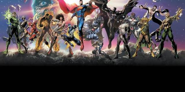 DC Comics New Age of Heroes - Cover