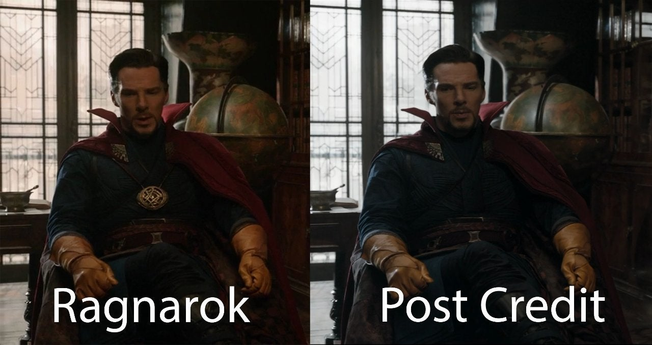 How Doctor Strange's Look Changed From His Post-Credits Scene to