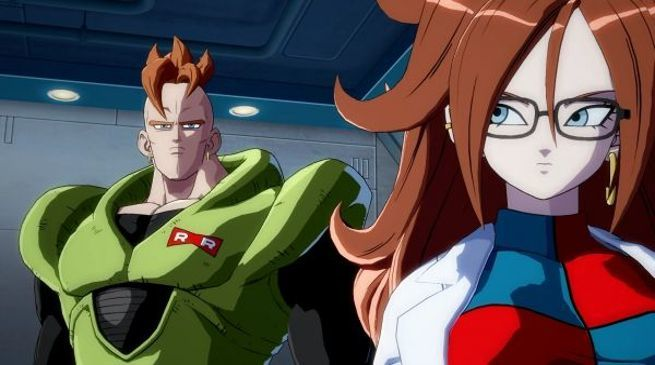 Dragon Ball FighterZ - Android 16 and Android 21