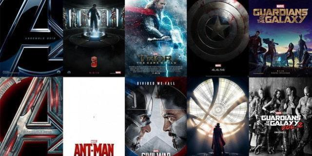 Every Marvel Cinematic Universe Teaser Poster in One Image