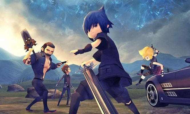 Final Fantasy XV Pocket Edition for iOS Now Available for Pre-order