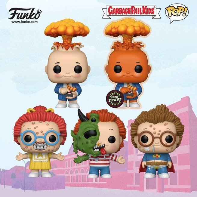 Funko Unveils Garbage Pail Kids and Care Bears Pops at London Toy Fair