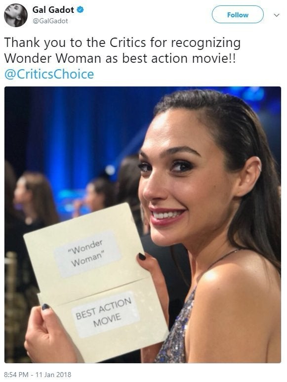 gal gadot wonder woman twitter critics