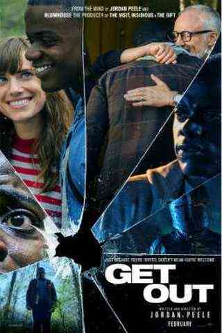 Get Out movie poster image