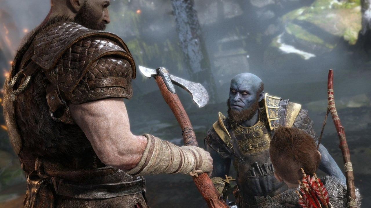 The new God of War hits PS4 in April