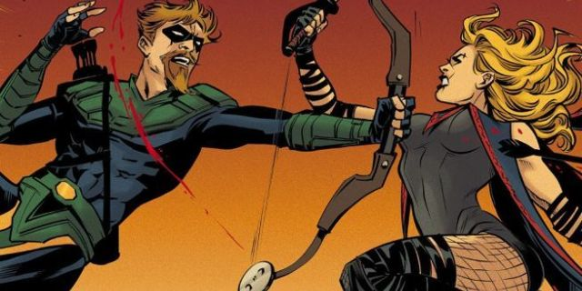 Gohtam City Garage Green Arrow vs Black Canary
