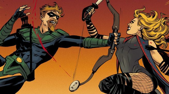 Gohtam City Garage Green Arrow vs. Black Canary