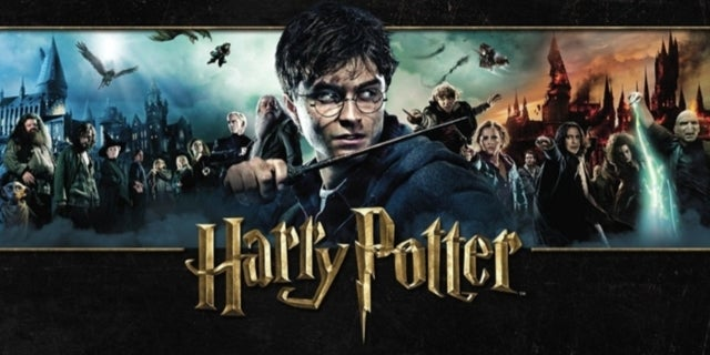 Harry Potter saga textless ComicBookcom