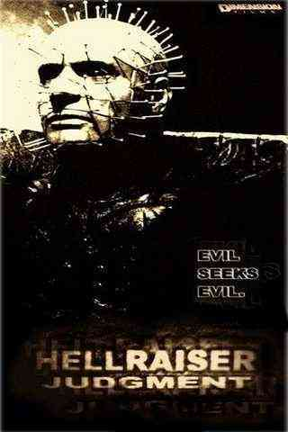 Hellraiser: Judgment movie poster image