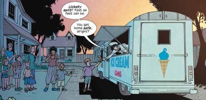 Ice Cream Man #1 Review - Children