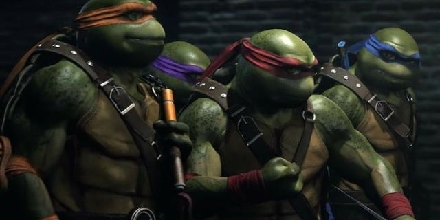 Injustice 2 Turtles