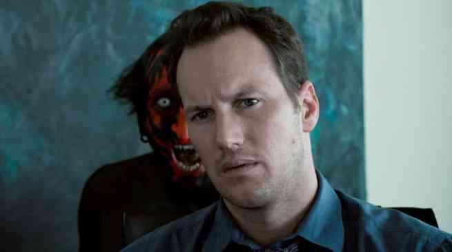 Insidious Red Faced Demon