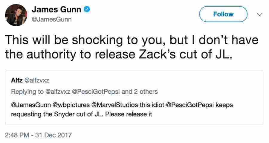 james-gunn-justice-league-zack-snyder-cut-charity-1