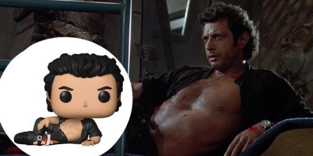 Jurassic Park Jeff Goldblum Pop Figure