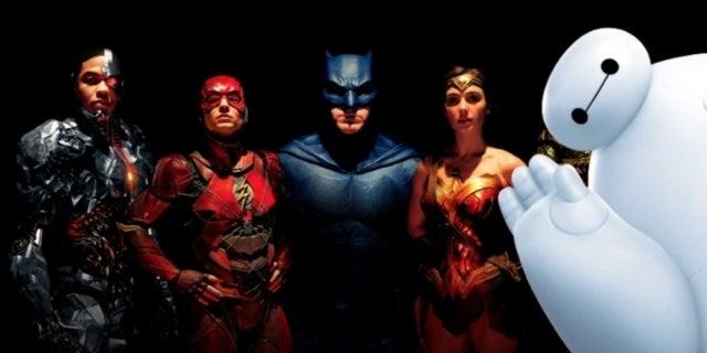 Justice League Baymax comicbookcom