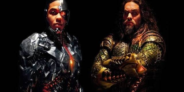 Justice League Cyborg Aquaman