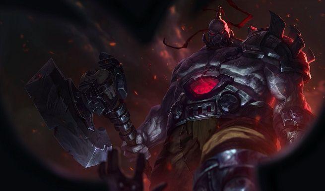 League of Legends Sion