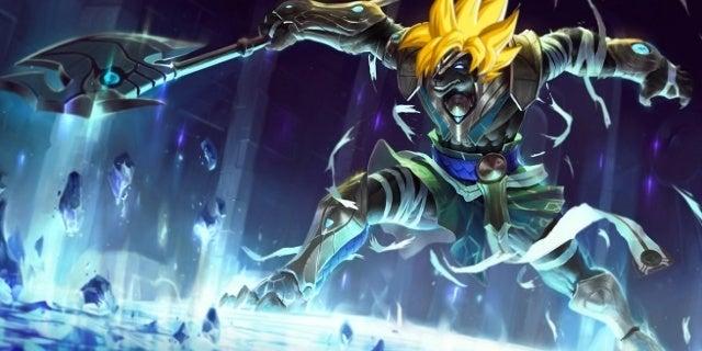 League of Legends Super Saiyan