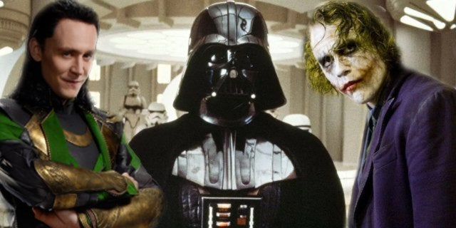 loki darth vader the joker