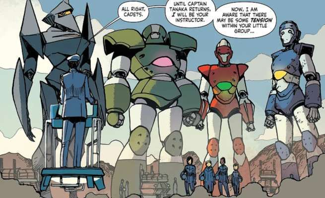Mech Cadet Yu - The Cadets