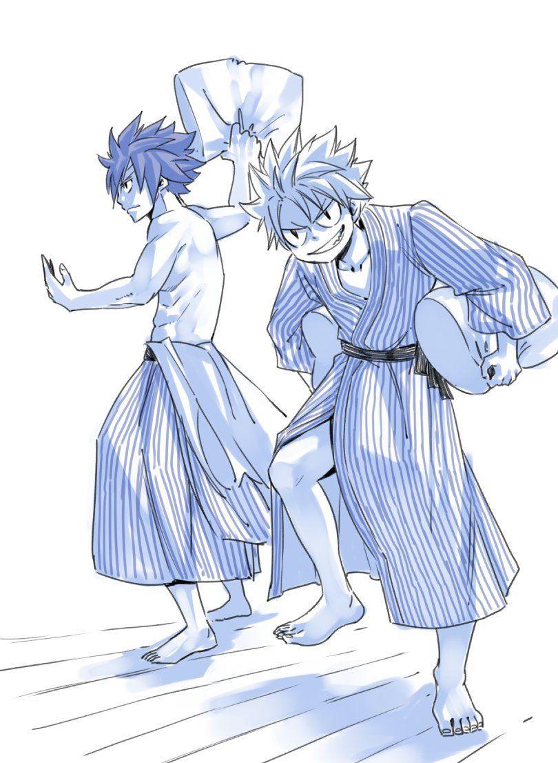 Natsu-Gray-Fairy-Tail-Art
