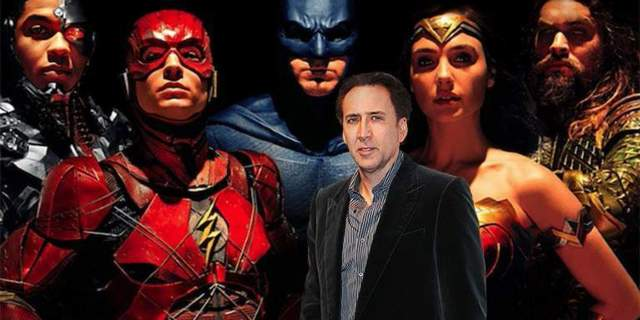 nicolas cage justice league