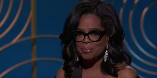 Oprah Golden Globes 2018