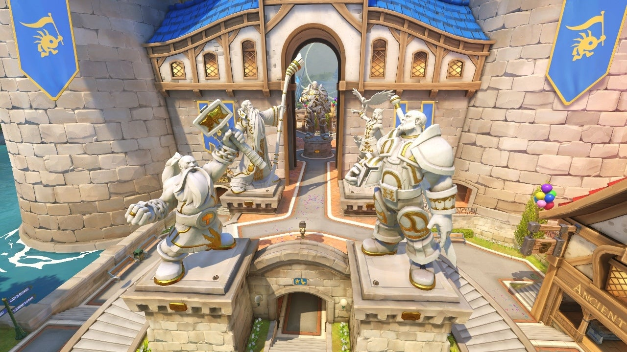 Overwatch Blizzard World and Skins; Grand Opening Dated